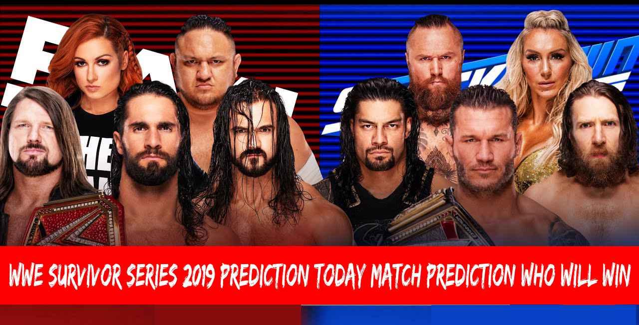 WWE Survivor Series 2019 Prediction | Today Match Prediction | Who Will Win