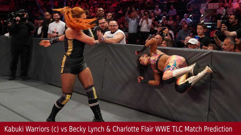 Kabuki Warriors (c) vs Becky Lynch & Charlotte Flair WWE TLC Match Prediction