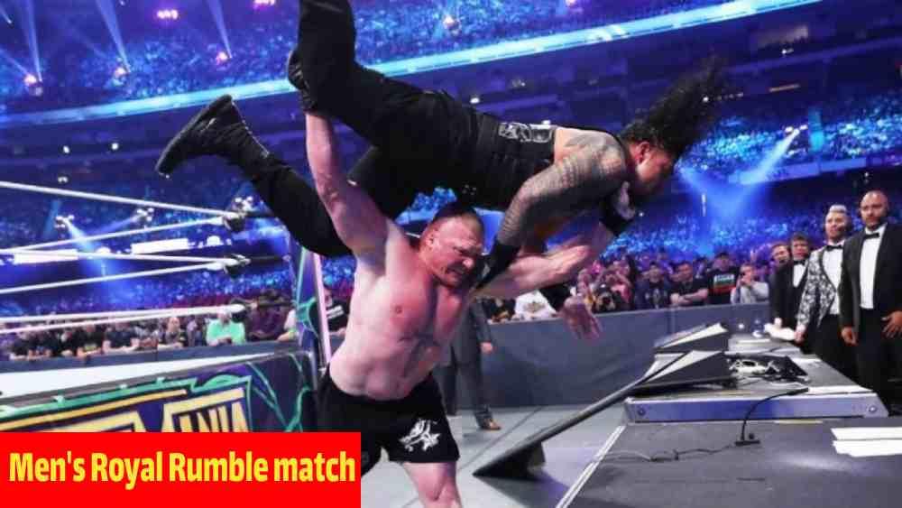 Men Royal Rumble Match Prediction