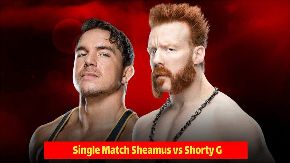Single Match Sheamus vs Shorty G
