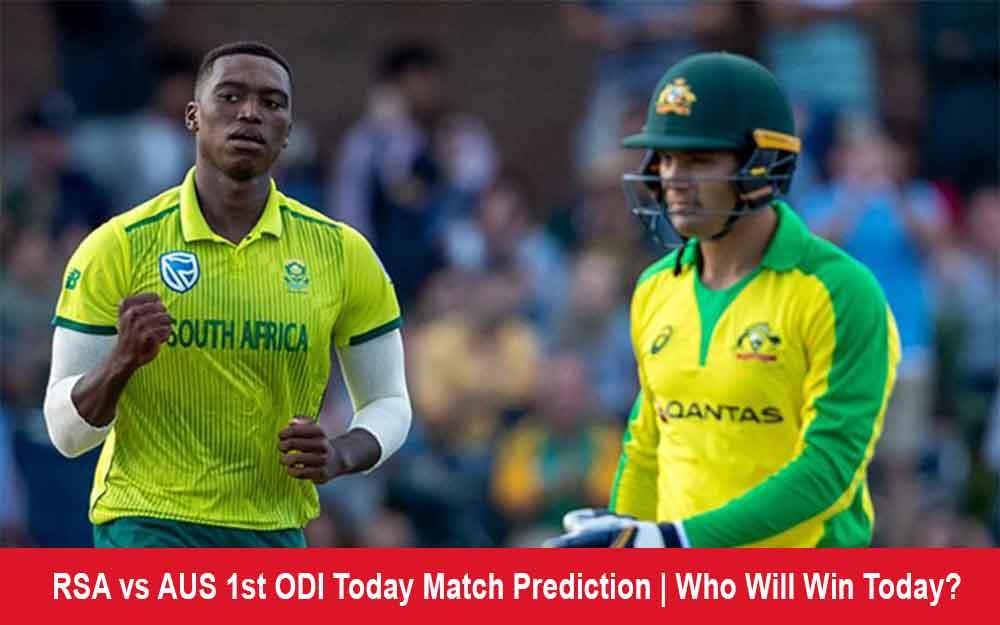 RSA vs AUS 1st ODI Match Prediction | Who Will Win Today Match?