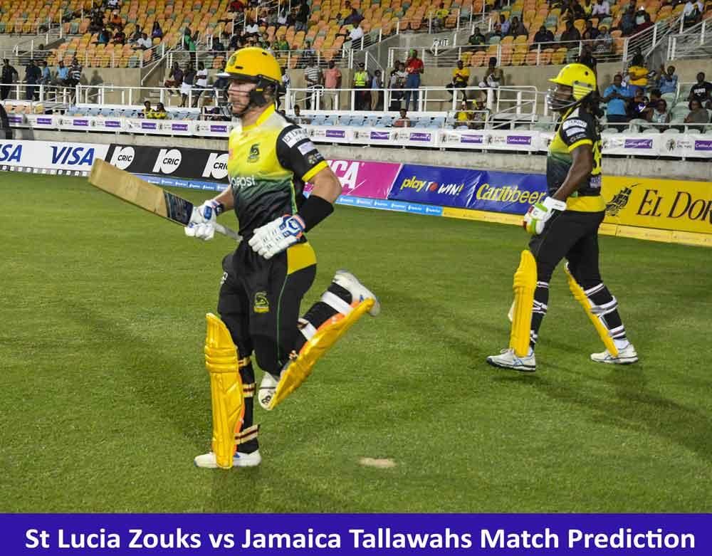 St Lucia Zouks vs Jamaica Tallawahs