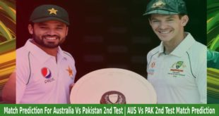 Match Prediction For Australia Vs Pakistan