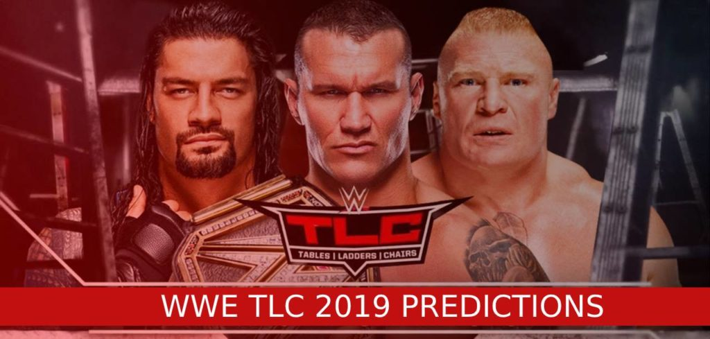 WWE TLC 2019 PREDICTIONS