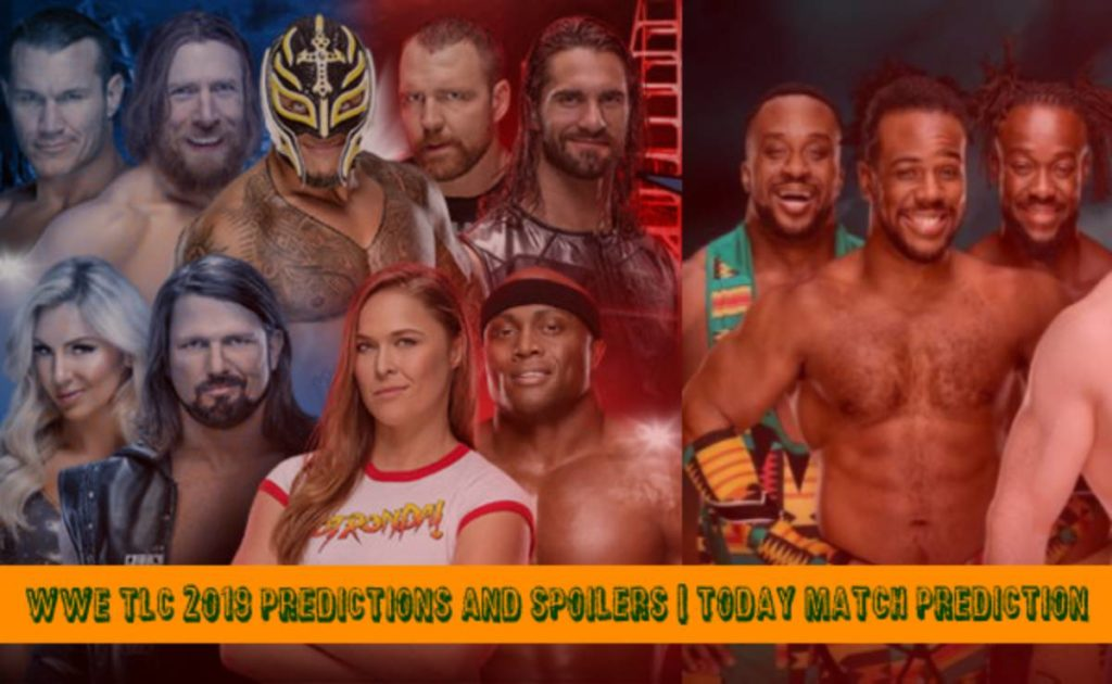 WWE TLC 2019 Predictions and Spoilers  Today Match Prediction