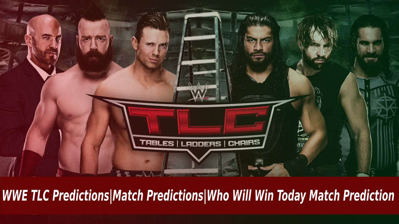WWE TLC Predictions Match Predictions Who Will Win Today Match Prediction