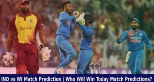IND vs WI Match Prediction Who Will Win Today Match Predictions