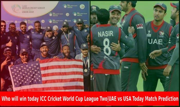 UAE vs USA Today Match Prediction