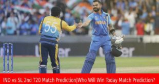 IND vs SL 2nd T20 Match Prediction|Who Will Win Today Match Prediction?