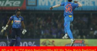IND vs SL 3rd T20 Match Prediction|Who Will Win Today Match Prediction?