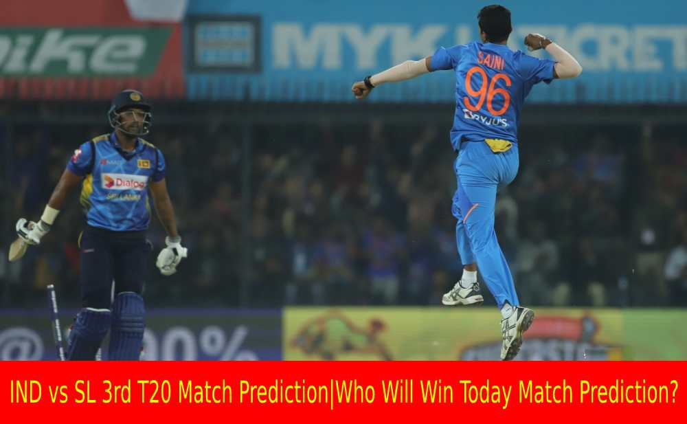Ind Vs Sl 3rd T20 Match Prediction Who Will Today Match
