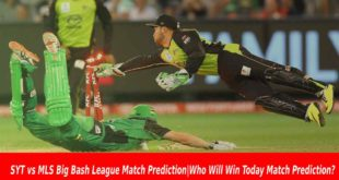 SYT vs MLS Big Bash League Match Prediction|Who Will Win Today Match Prediction?
