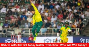 RSA vs AUS 3rd T20 Today Match Prediction | Who Will Win Today?