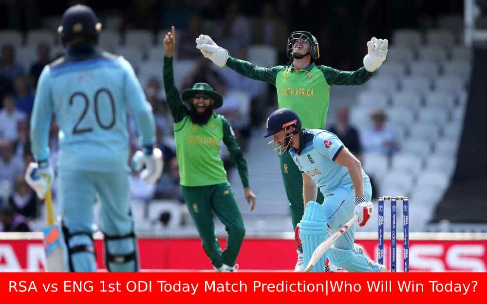 RSA vs ENG 1st ODI Today Match Prediction|Who Will Win Today?