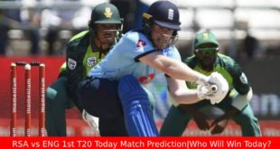 RSA vs ENG 1st T20 Today Match Prediction|Who Will Win Today?