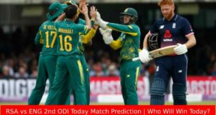 RSA vs ENG 2nd ODI Today Match Prediction | Who Will Win Today?