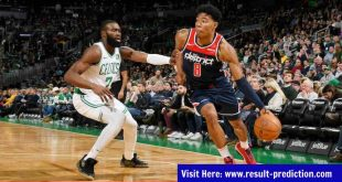 Boston Celtics vs Washington Wizards NBA Prediction