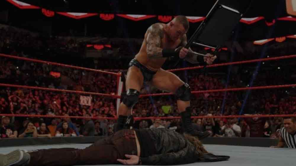 Edge vs Randy Orton - Last Man Standing