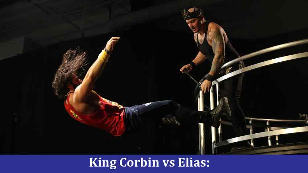 King Corbin vs Elias Match prediction