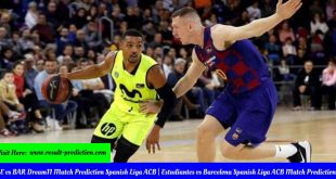 ME vs BAR Dream11 Match Prediction Spanish Liga ACB Estudiantes vs Barcelona Spanish Liga ACB Match Prediction