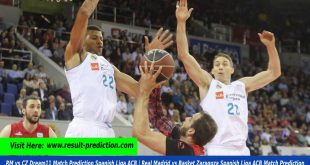 RM vs CZ Dream11 Match Prediction Spanish Liga ACB | Real Madrid vs Basket Zaragoza Spanish Liga ACB Match Prediction
