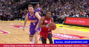 Sydney Kings vs Perth Wildcats NBL Prediction Match Preview, Match Highlights, Spoilers, Fixture