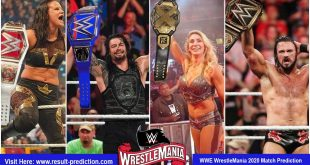 WWE WrestleMania 2020 Match Prediction | matches, card, coronavirus plans, date, rumours, predictions, start time, location