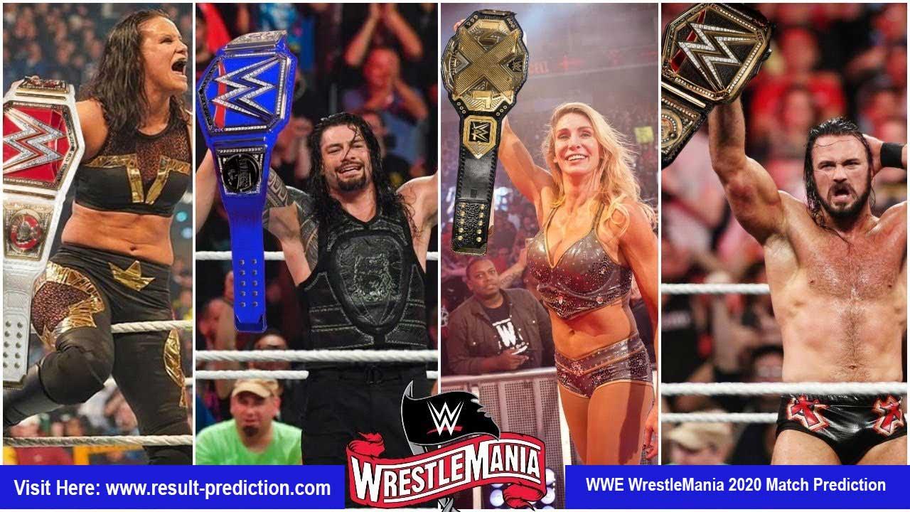 WWE WrestleMania 2020 Match Prediction | matches, card, coronavirus plans, date, rumours, predictions, start time, location