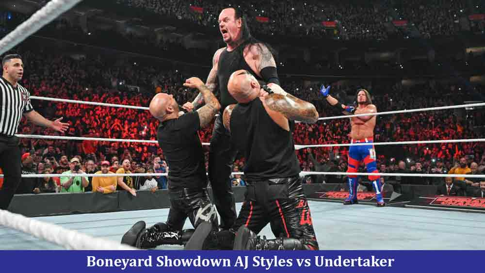 Boneyard Showdown AJ Styles vs Undertaker: