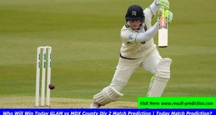 Who Will Win Today GLAM vs MDX County Div 2 Match Prediction | Today Match Prediction?