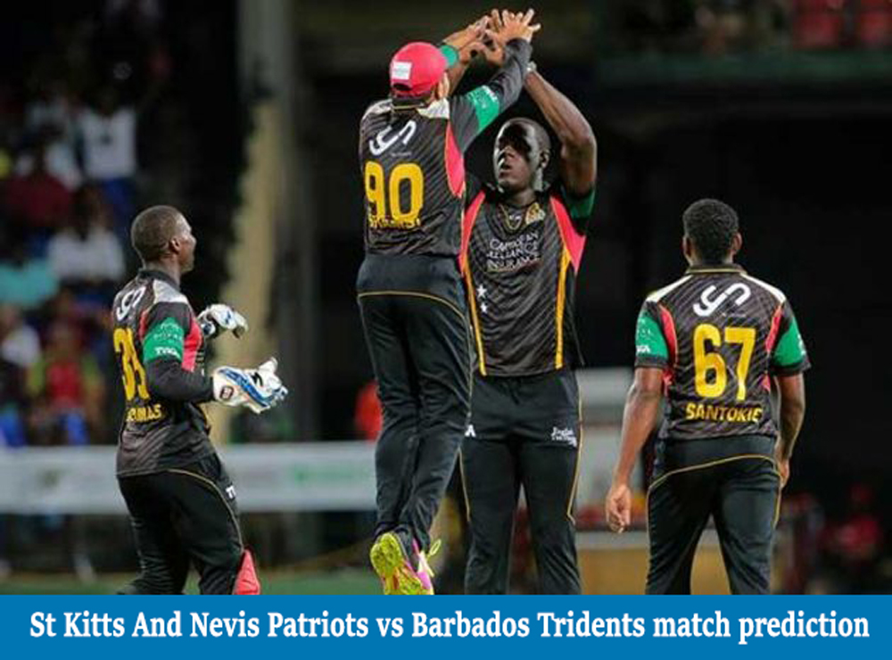 Who Will Win Today SNP vs BT Caribbean Premier League 2020 Match Prediction
