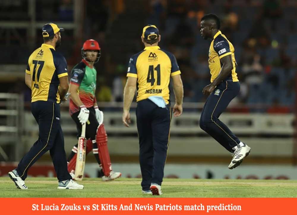 STZ vs SNP Caribbean Premier League 2020 Match Prediction
