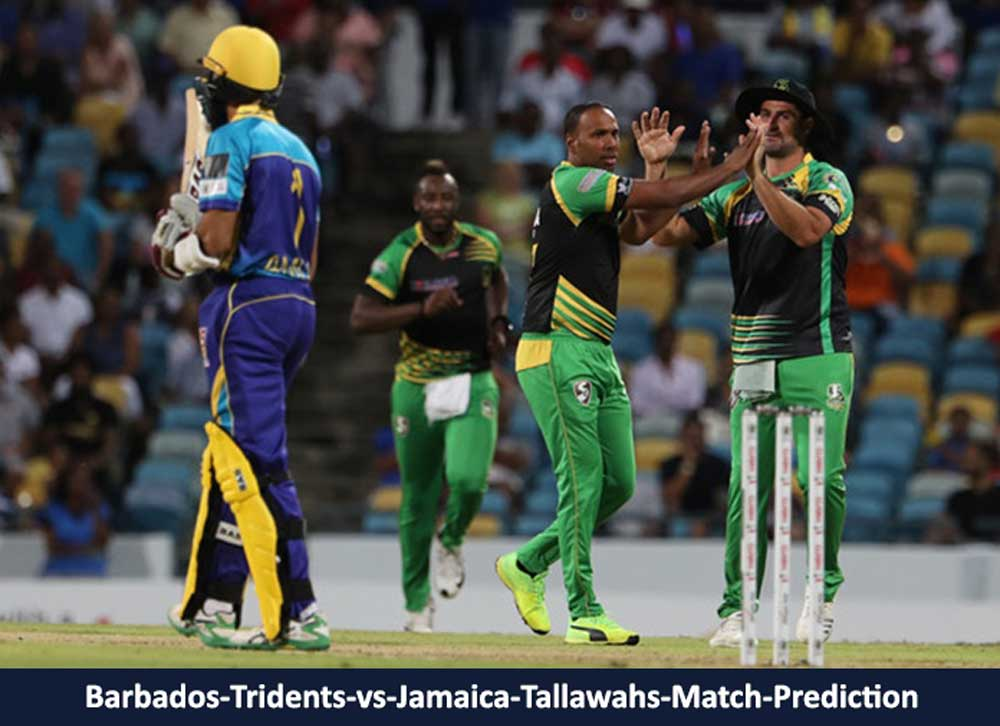 Barbados-Tridents-vs-Jamaica-Tallawahs-Match-Prediction