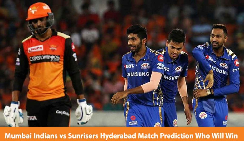 MI vs SRH IPL Match Prediction | MI vs SRH 17th Match 04 October 2020 Who Will Win