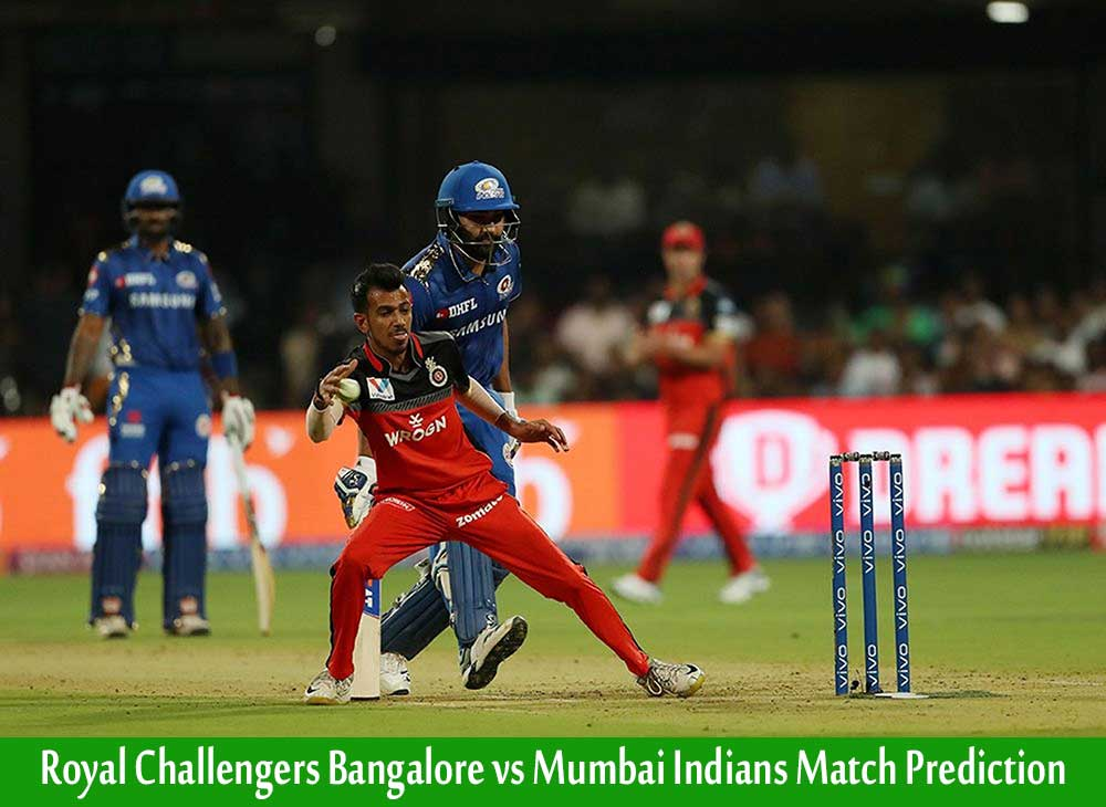 RCB vs MI IPL Match Prediction | RCB vs MI 10th Match 28 September 2020 Who Will Win