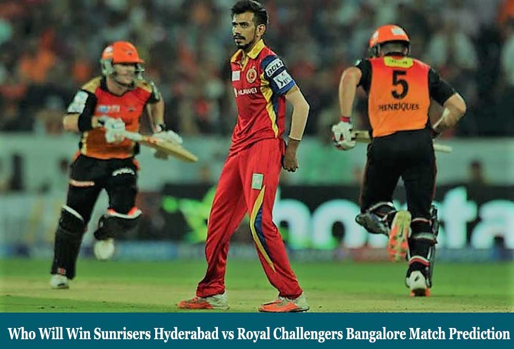 SRH vs RCB IPL Match Prediction | SRH vs RCB 3rd Match 20 September 2020 Who Will Win