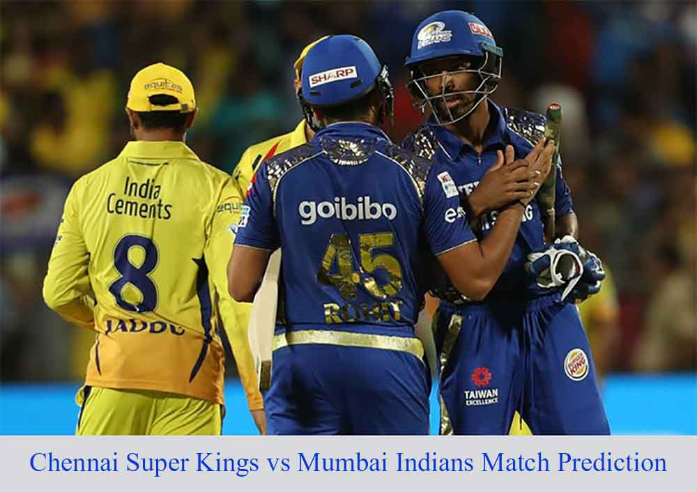 CSK vs MI 41th IPL Match Prediction