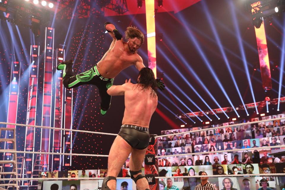 Drew McIntyre (c) V/S AJ Styles WWE TLC Matches