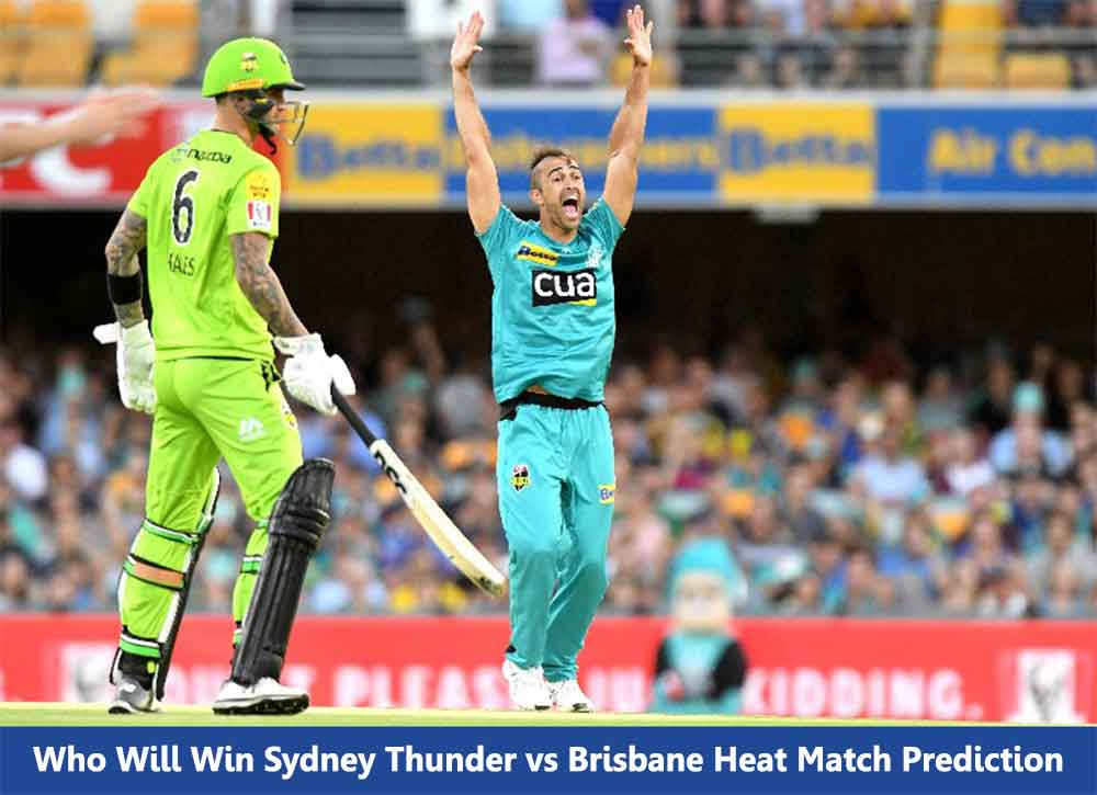 Who Will Win SYT vs BRH Big Bash League Match Prediction
