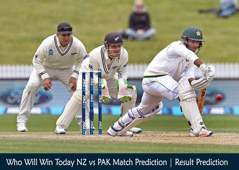 Who Will Win Today NZ vs PAK 1st Test Match Prediction