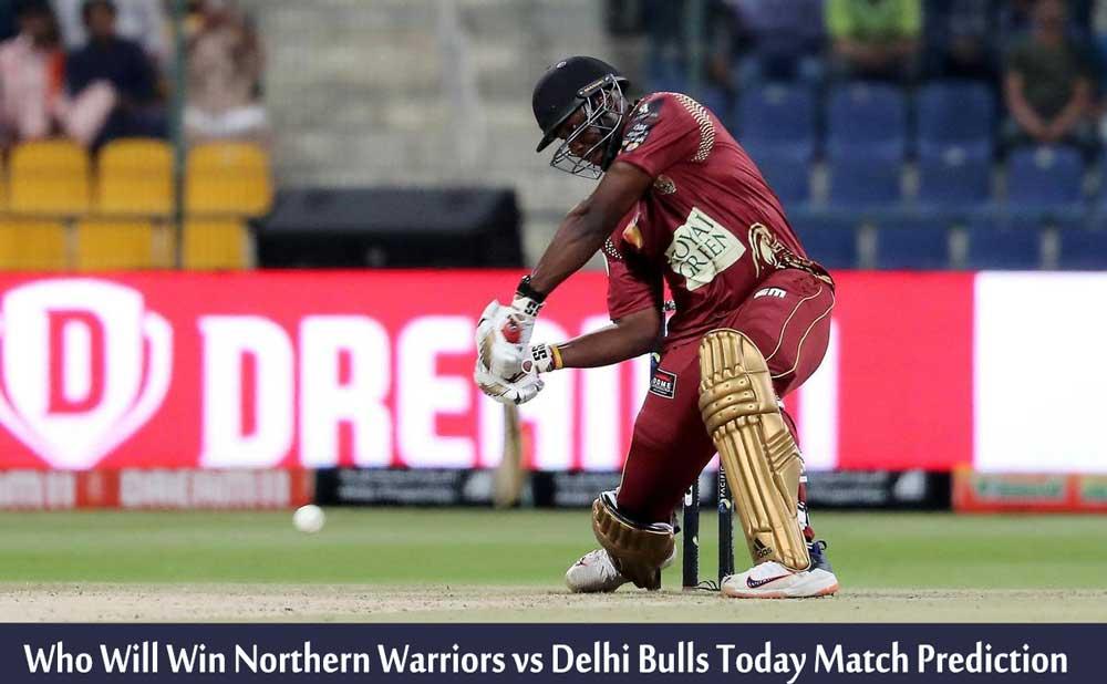 Northern Warriors vs Delhi Bulls Today Match Prediction