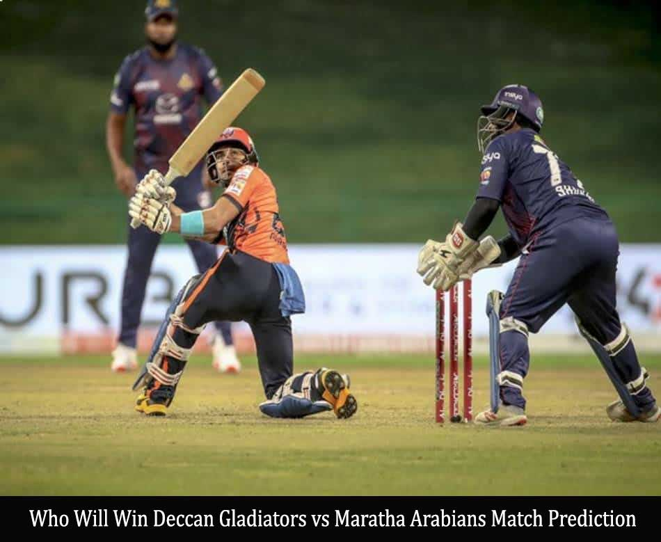 Deccan Gladiators vs Maratha Arabians Match Prediction