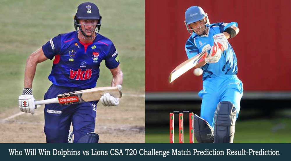 DOL vs LIONS CSA T20 Challenge Match Prediction