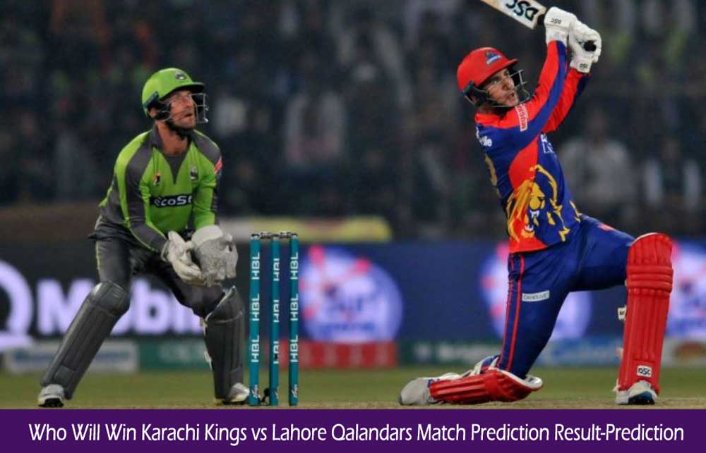 KRK vs LHQ Pakistan Super League Match Prediction