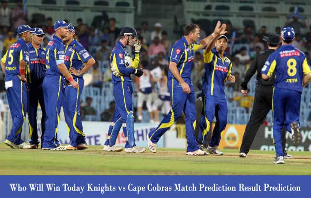 Knights vs Cape Cobras CSA T20 Challenge Match Prediction
