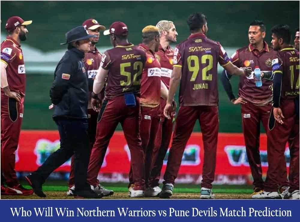 Northern Warriors vs Pune Devils T10 League Match Prediction