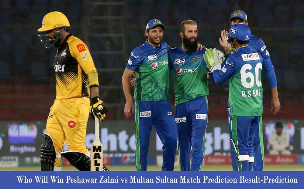 Peshawar Zalmi vs Multan Sultan Pakistan Super League Match Prediction