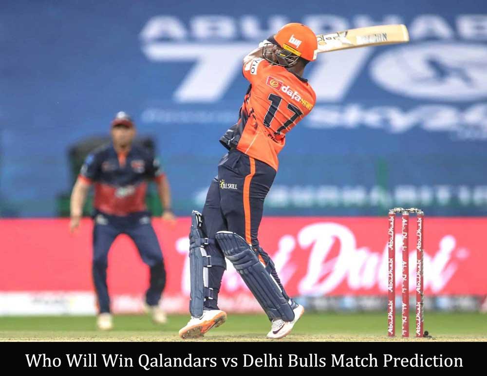 Qalandars vs Delhi Bulls T10 League Match Prediction