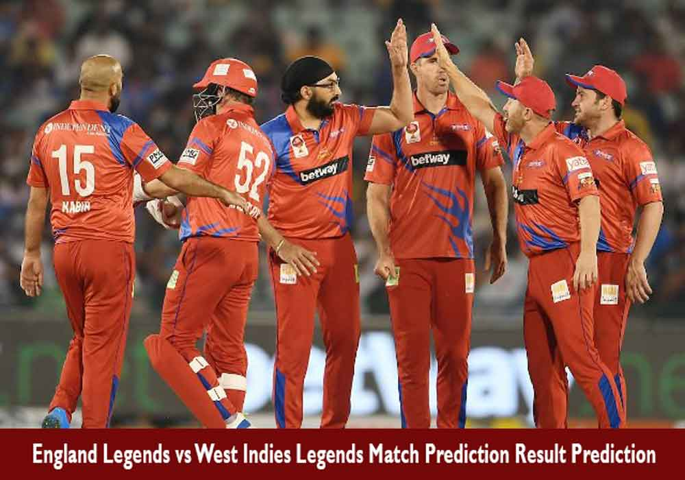 Who Will Win ENGL vs WIL Road Safety World Series Match Prediction