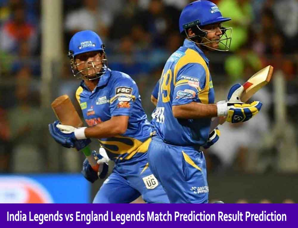 Who Will Win INDL vs ENGL Road Safety World Series Match Prediction Result Prediction